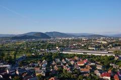 Paisaje de Mukachevo Oblast de Zakarpatska Fotografía de archivo libre de regalías