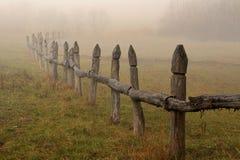 paisaje de niebla Fotos de archivo libres de regalías