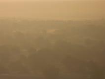 paisaje de niebla Fotografía de archivo libre de regalías