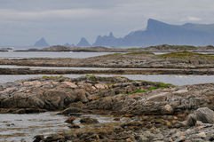 Paisaje de Noruega Foto de archivo