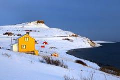 Paisaje de Noruega septentrional Foto de archivo libre de regalías