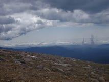 Paisaje de nubes Foto de archivo
