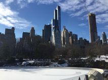 Paisaje de Nueva York imagen de archivo libre de regalías