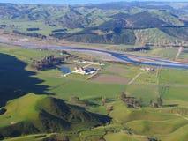 Paisaje de Nueva Zelandia Foto de archivo libre de regalías
