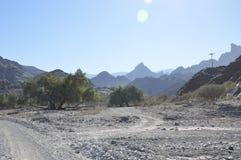 Paisaje de Omán Imagenes de archivo