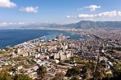 Paisaje de Palermo Fotos de archivo libres de regalías