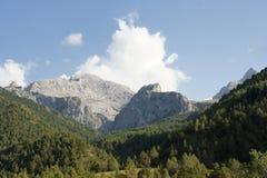 Paisaje de Pamir-alay, Kirguistán Fotografía de archivo libre de regalías