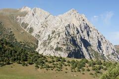 Paisaje de Pamir-alay, Kirguistán Fotografía de archivo