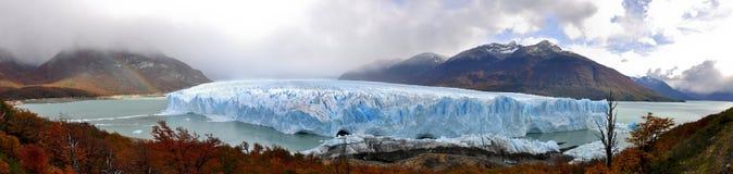 Paisaje de Perito Moreno Fotos de archivo
