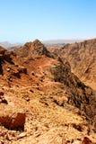 Paisaje de piedra del desierto Foto de archivo