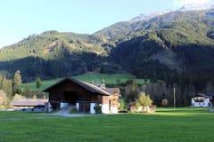 Paisaje de Pinzgau fotografía de archivo