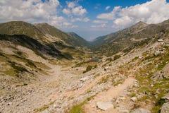 Paisaje de Pirin de la montaña Foto de archivo libre de regalías