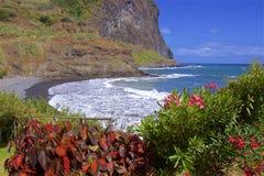 Paisaje de Porta DA Cruz - de Madeira Fotos de archivo