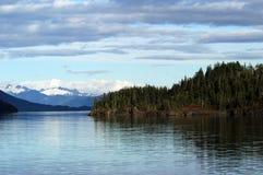 Paisaje de príncipe Guillermo Sound Alaska Foto de archivo libre de regalías