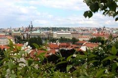 Paisaje de Praga Imagen de archivo