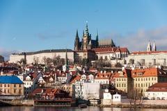 Paisaje de Praga Imagen de archivo libre de regalías