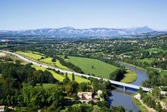 Paisaje de Provence Imagen de archivo