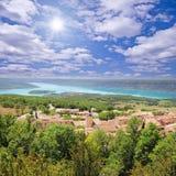 Paisaje de Provence fotos de archivo libres de regalías