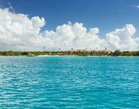 Paisaje de Punta Cana, República Dominicana foto de archivo