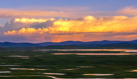 Paisaje de Qinghai Imagen de archivo