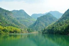 Paisaje de Quzhou Jianglangshan Imagen de archivo libre de regalías