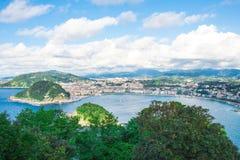 Paisaje de San Sebastián Fotos de archivo libres de regalías