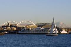 Paisaje de Seattle foto de archivo libre de regalías