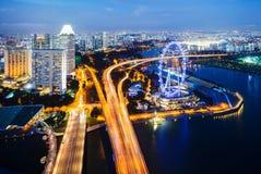 Paisaje de Singapur Fotografía de archivo