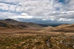 Paisaje de Snowdonia Fotografía de archivo