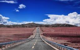 Paisaje de Tíbet Fotografía de archivo