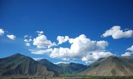 Paisaje de Tíbet Foto de archivo libre de regalías