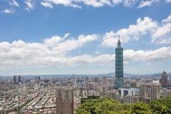 Paisaje de Taipei Fotografía de archivo libre de regalías