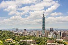 Paisaje de Taipei Foto de archivo