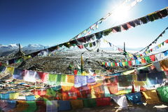 Paisaje de Tibetian Fotografía de archivo