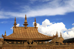 Paisaje de Tibets Imagen de archivo libre de regalías