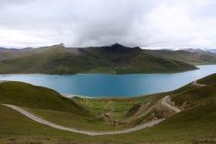Paisaje de Tibets Fotografía de archivo
