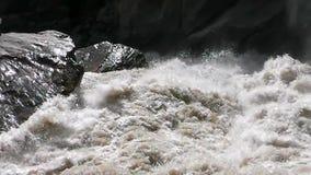 Paisaje de Tiger Leaping Gorge almacen de metraje de vídeo