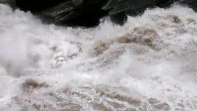 Paisaje de Tiger Leaping Gorge almacen de video