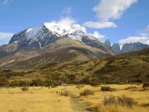 Paisaje de Torres del Paine Imagen de archivo