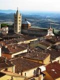Paisaje de Toscana, Italia Imágenes de archivo libres de regalías