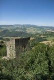 Paisaje de Umbría (Italia) Imagen de archivo libre de regalías