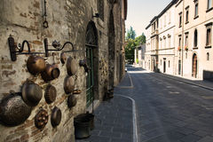 Paisaje de Umbría (Italia) Foto de archivo libre de regalías
