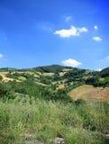 Paisaje de Umbrian Fotos de archivo