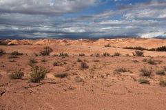 Paisaje de un planeta Imagen de archivo libre de regalías