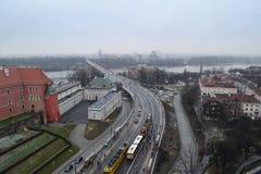 Paisaje de Varsovia Fotos de archivo