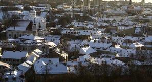 Paisaje de Vilna Fotografía de archivo libre de regalías