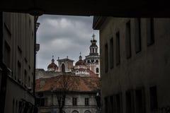 Paisaje de Vilna Fotos de archivo libres de regalías