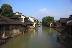 Paisaje de Wuzhen Fotografía de archivo