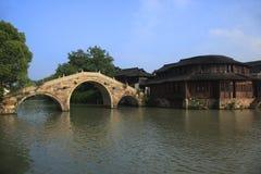 Paisaje de Wuzhen Imagen de archivo