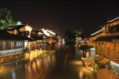 Paisaje de Wuzhen Foto de archivo libre de regalías